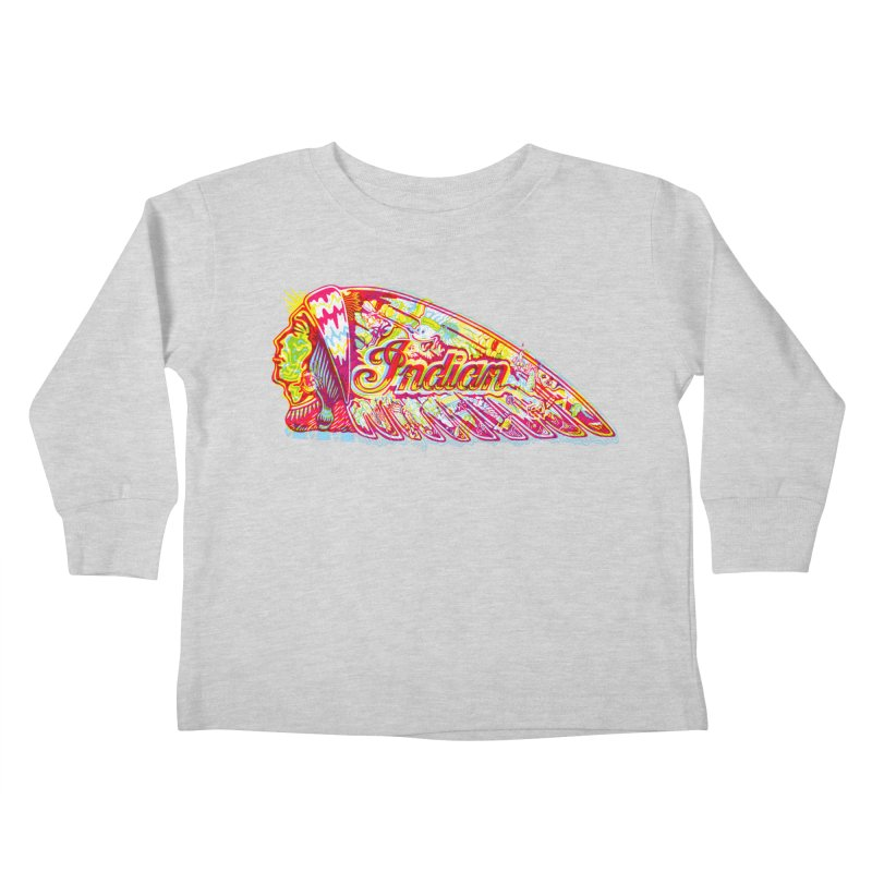 The Indian Kids Toddler Longsleeve T-Shirt by redleggerstudio's Shop