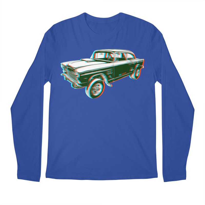Gasser Men's Longsleeve T-Shirt by redleggerstudio's Shop
