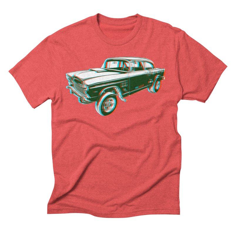 Gasser Men's Triblend T-shirt by redleggerstudio's Shop