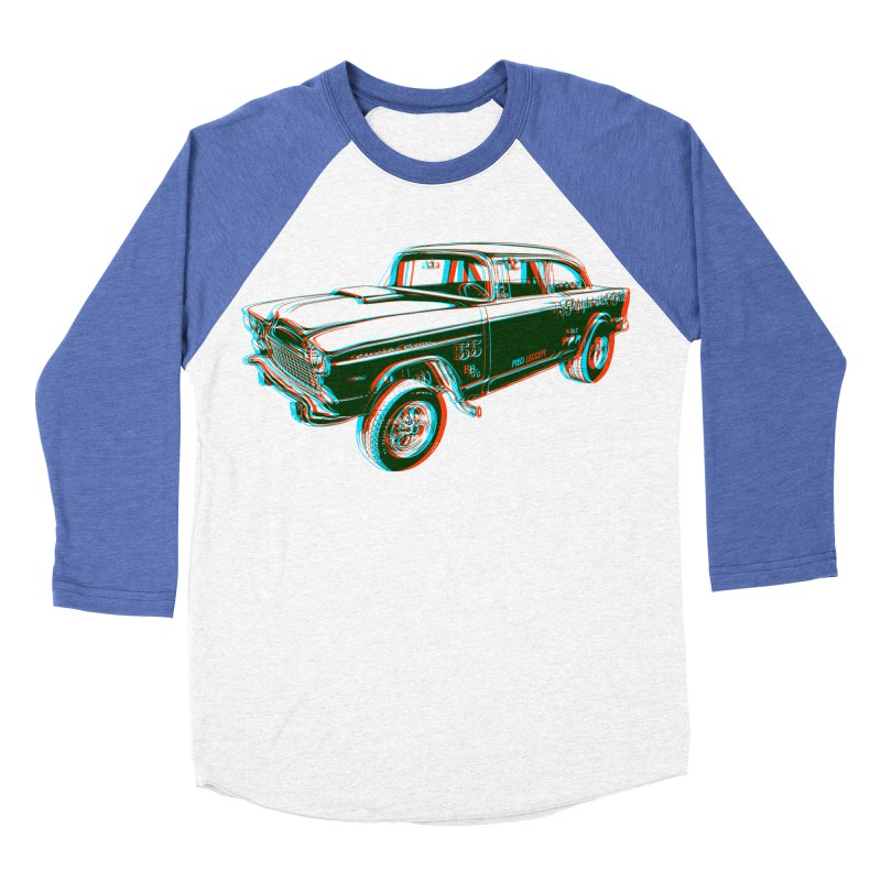 Gasser Women's Baseball Triblend T-Shirt by redleggerstudio's Shop