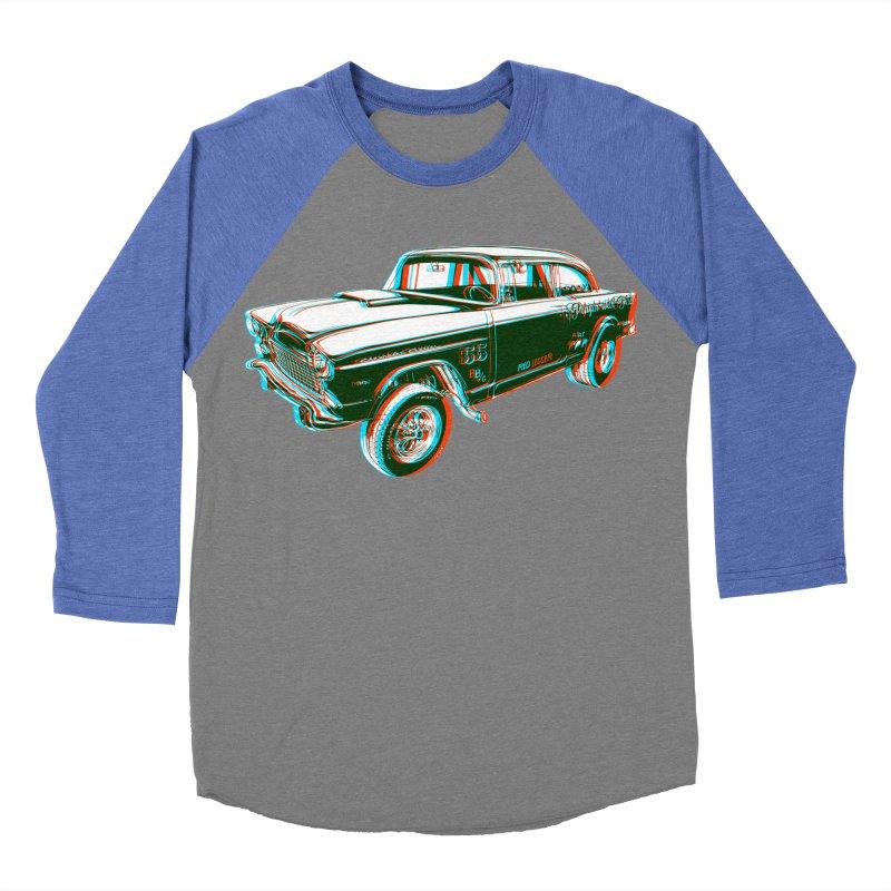 Gasser Men's Baseball Triblend T-Shirt by redleggerstudio's Shop