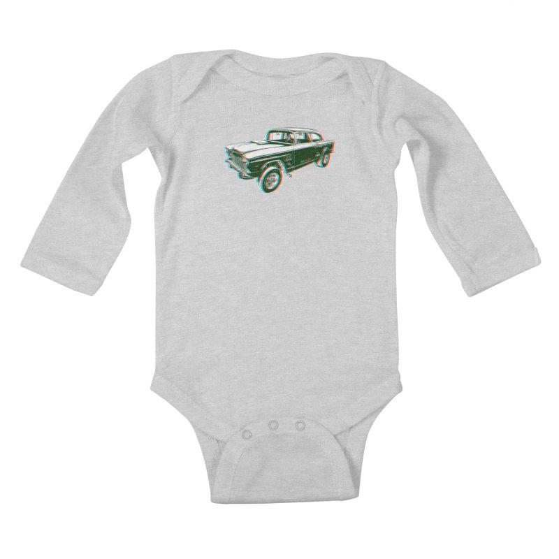 Gasser Kids Baby Longsleeve Bodysuit by redleggerstudio's Shop