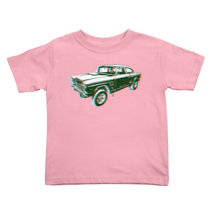 Gasser Kids Toddler T-Shirt by redleggerstudio's Shop