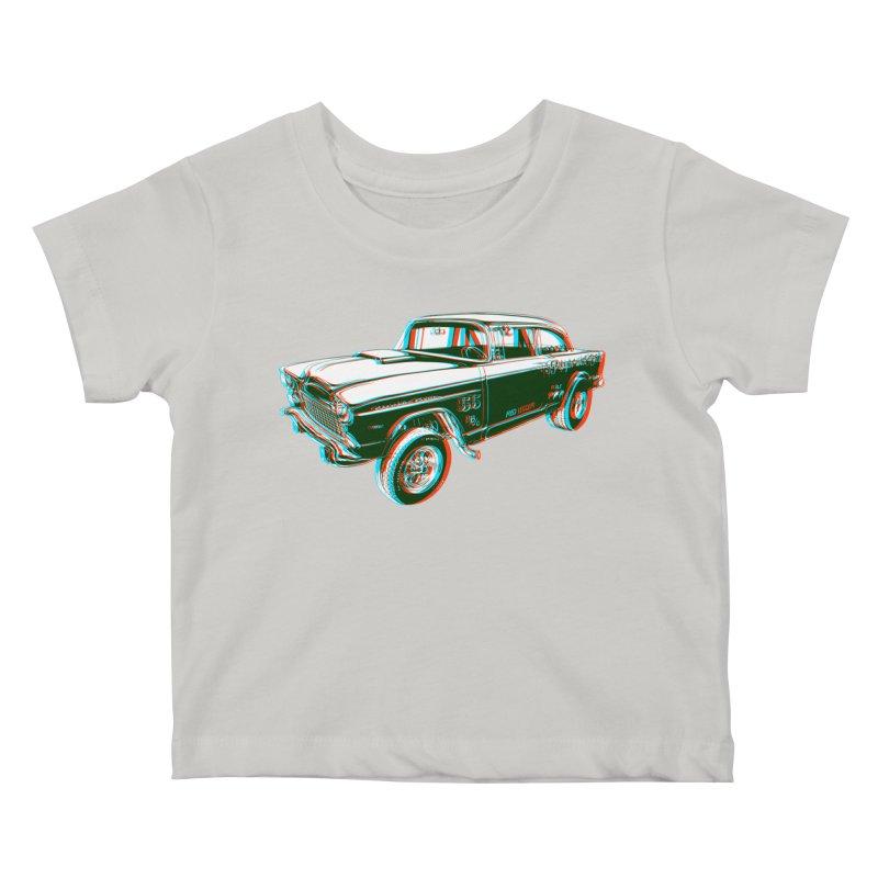 Gasser Kids Baby T-Shirt by redleggerstudio's Shop