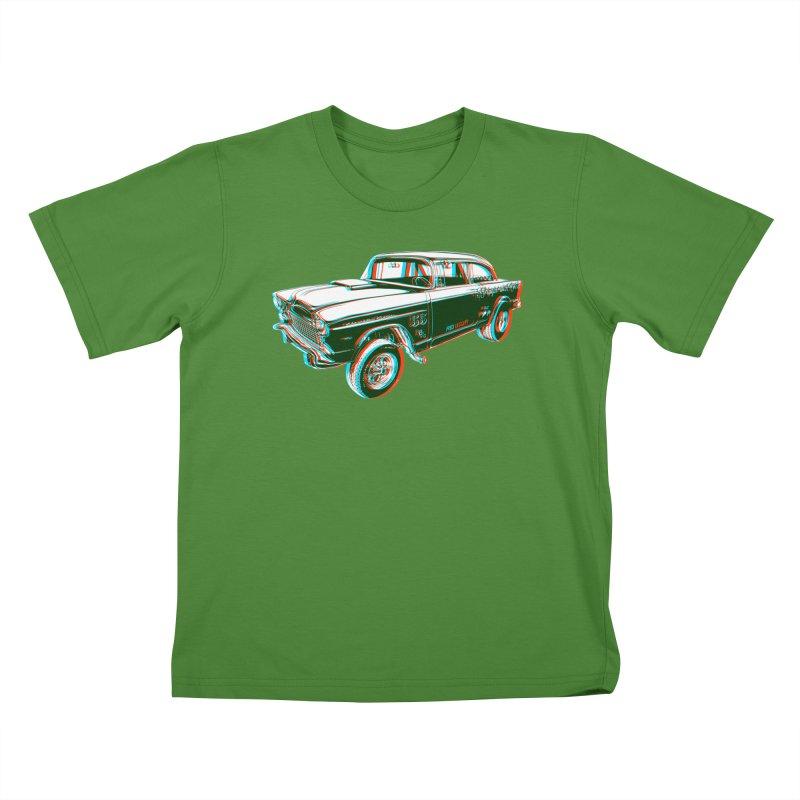 Gasser Kids T-Shirt by redleggerstudio's Shop