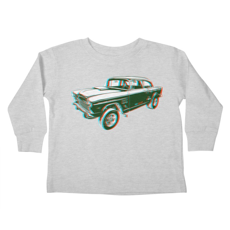Gasser Kids Toddler Longsleeve T-Shirt by redleggerstudio's Shop