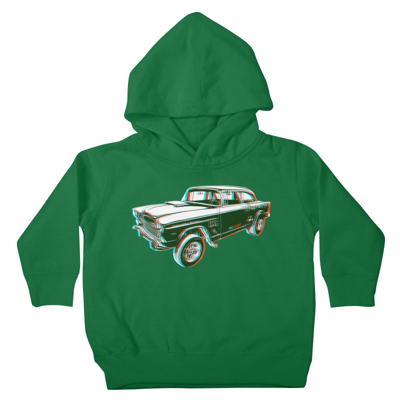 Gasser Kids Toddler Pullover Hoody by redleggerstudio's Shop