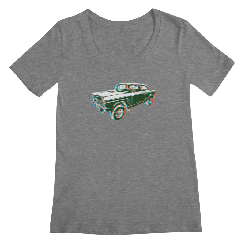Gasser Women's Scoopneck by redleggerstudio's Shop