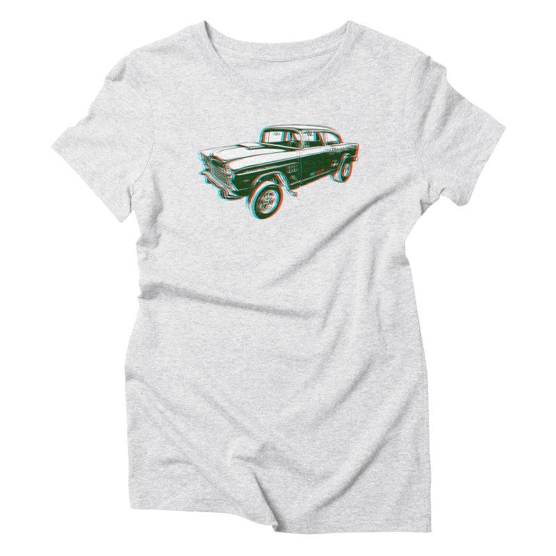 Gasser Women's Triblend T-shirt by redleggerstudio's Shop