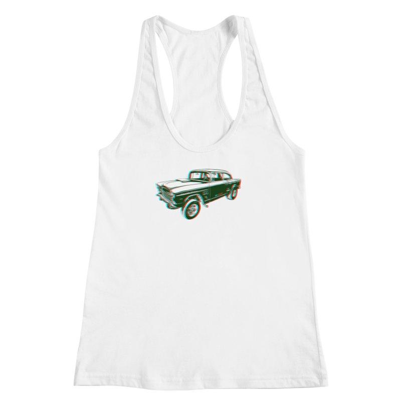 Gasser Women's Racerback Tank by redleggerstudio's Shop