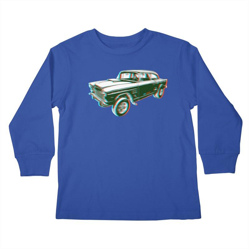 Gasser Kids Longsleeve T-Shirt by redleggerstudio's Shop