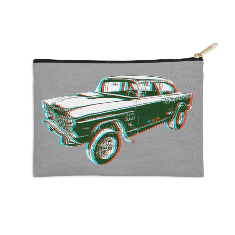 Gasser Accessories Zip Pouch by redleggerstudio's Shop