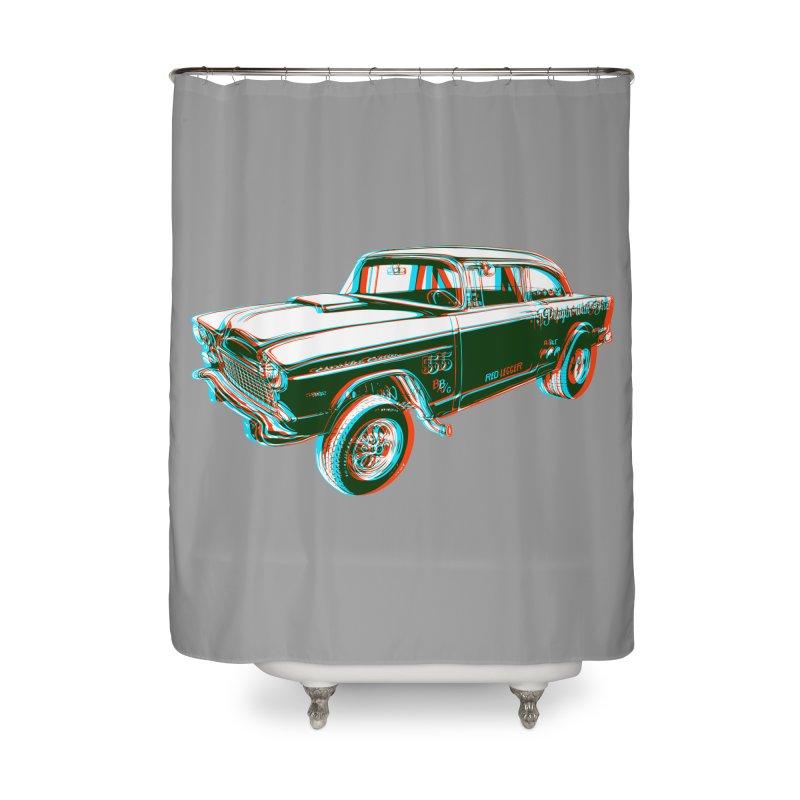Gasser Home Shower Curtain by redleggerstudio's Shop