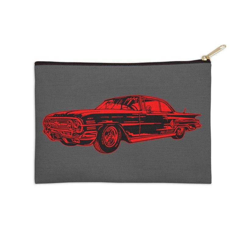 Impala Accessories Zip Pouch by redleggerstudio's Shop