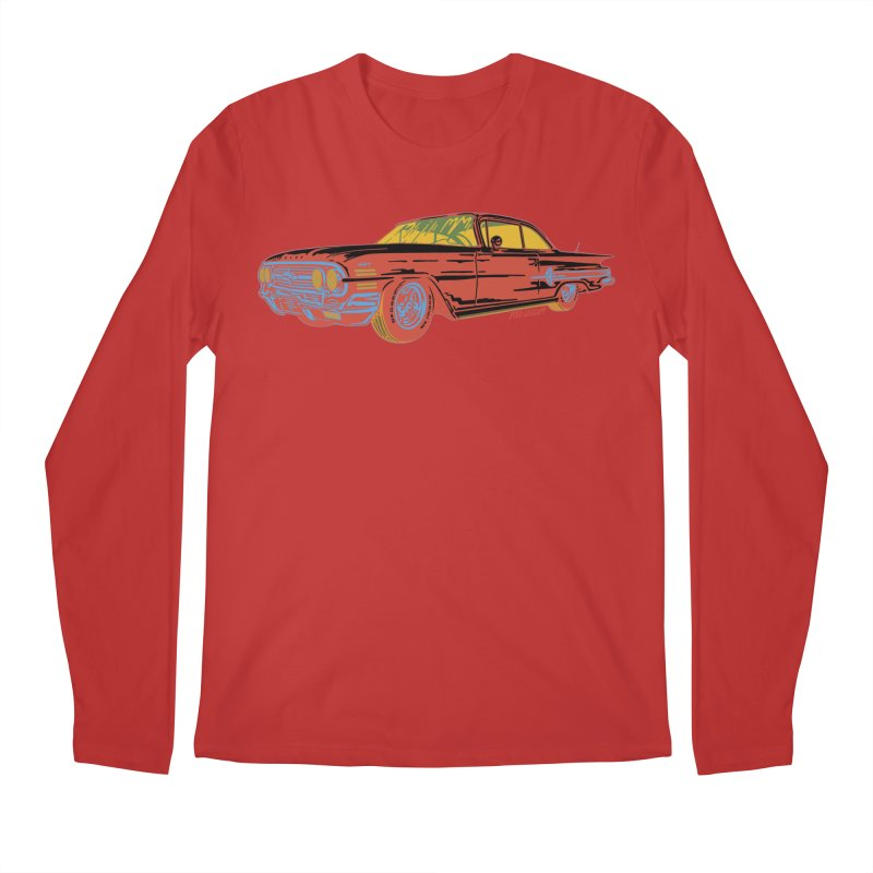 Impala Men's Longsleeve T-Shirt by redleggerstudio's Shop