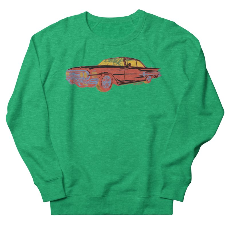 Impala Men's Sweatshirt by redleggerstudio's Shop