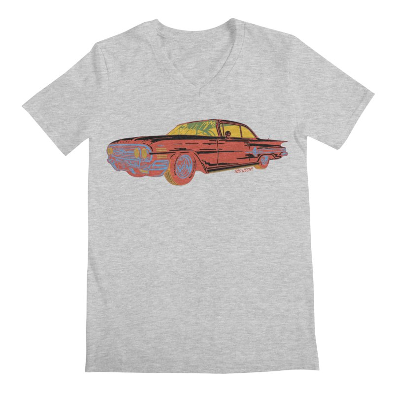 Impala Men's V-Neck by redleggerstudio's Shop