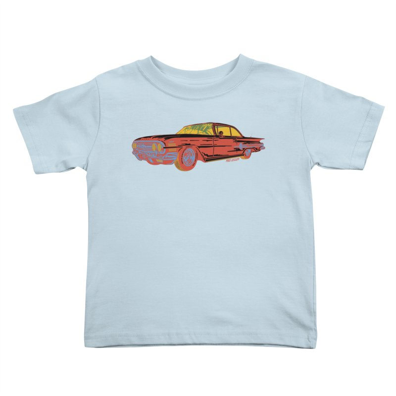 Impala Kids Toddler T-Shirt by redleggerstudio's Shop