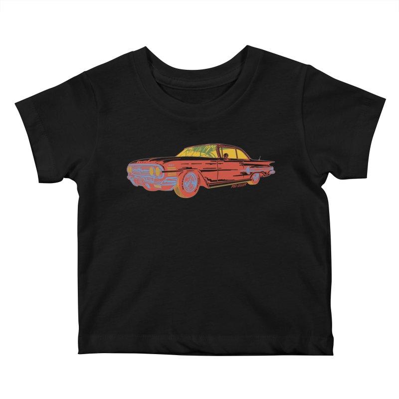 Impala Kids Baby T-Shirt by redleggerstudio's Shop