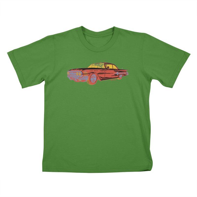 Impala Kids T-Shirt by redleggerstudio's Shop