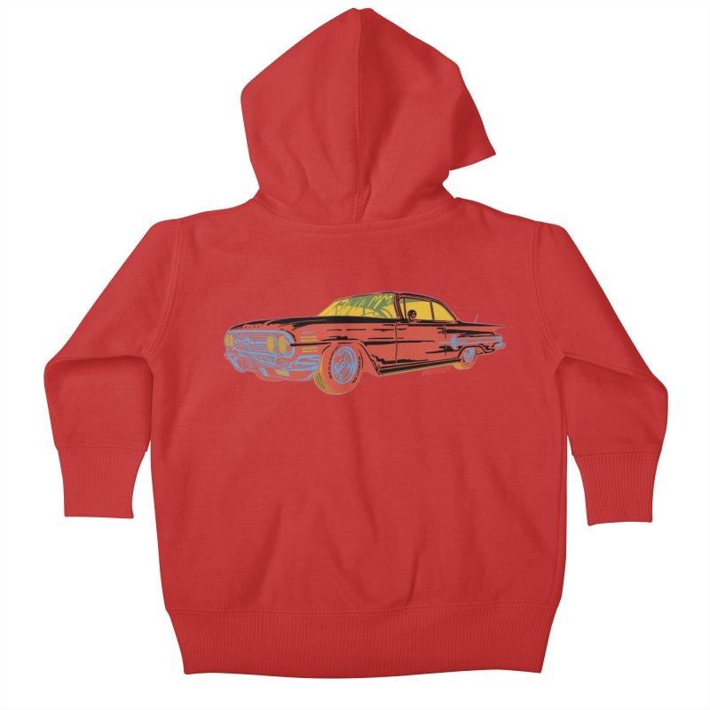 Impala Kids Baby Zip-Up Hoody by redleggerstudio's Shop