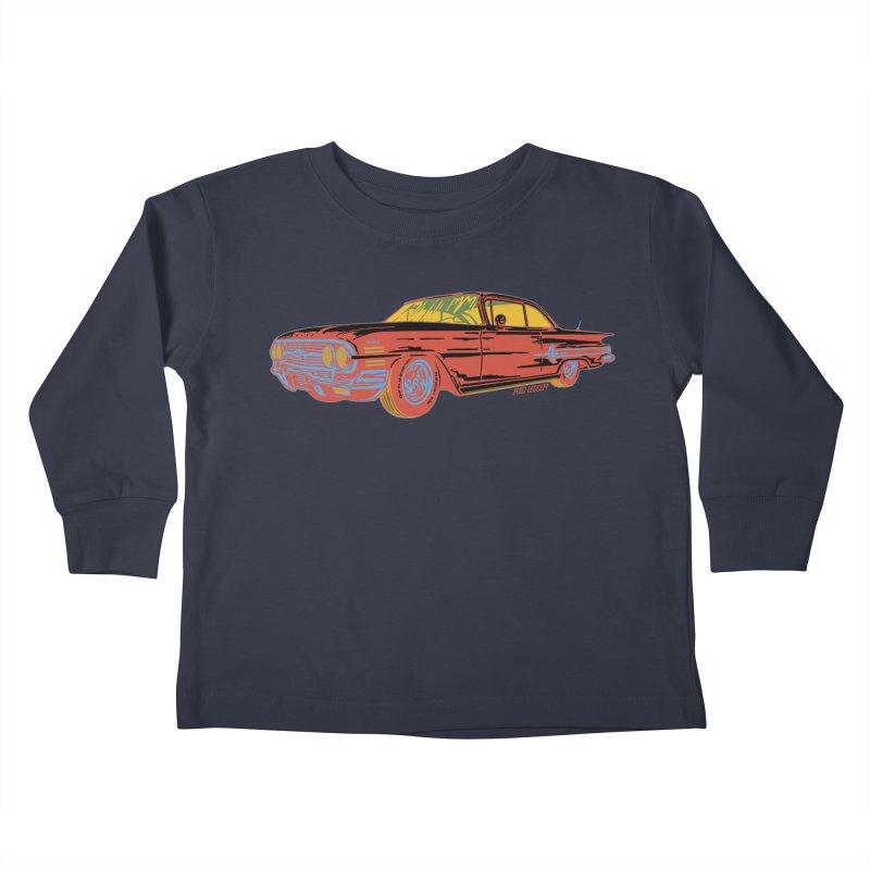 Impala Kids Toddler Longsleeve T-Shirt by redleggerstudio's Shop
