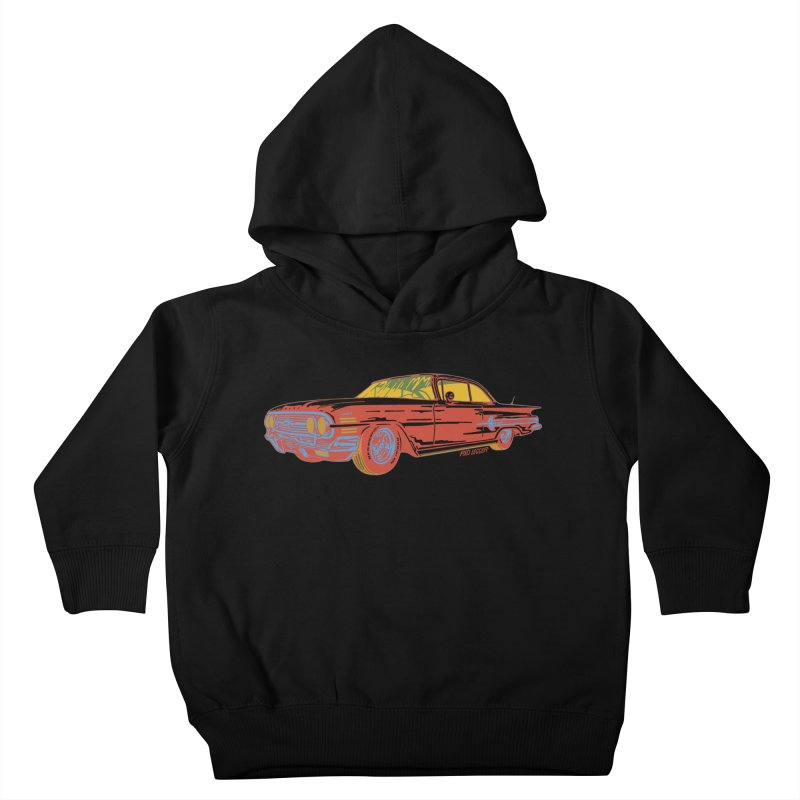 Impala Kids Toddler Pullover Hoody by redleggerstudio's Shop
