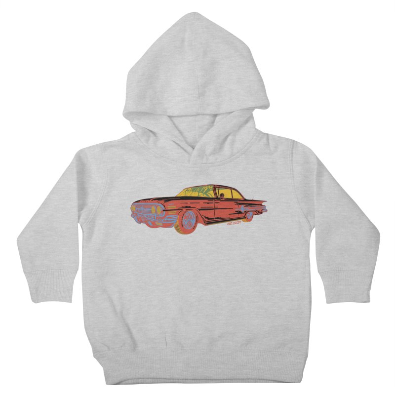Impala Kids Toddler Pullover Hoody by redleggerstudio's Shop