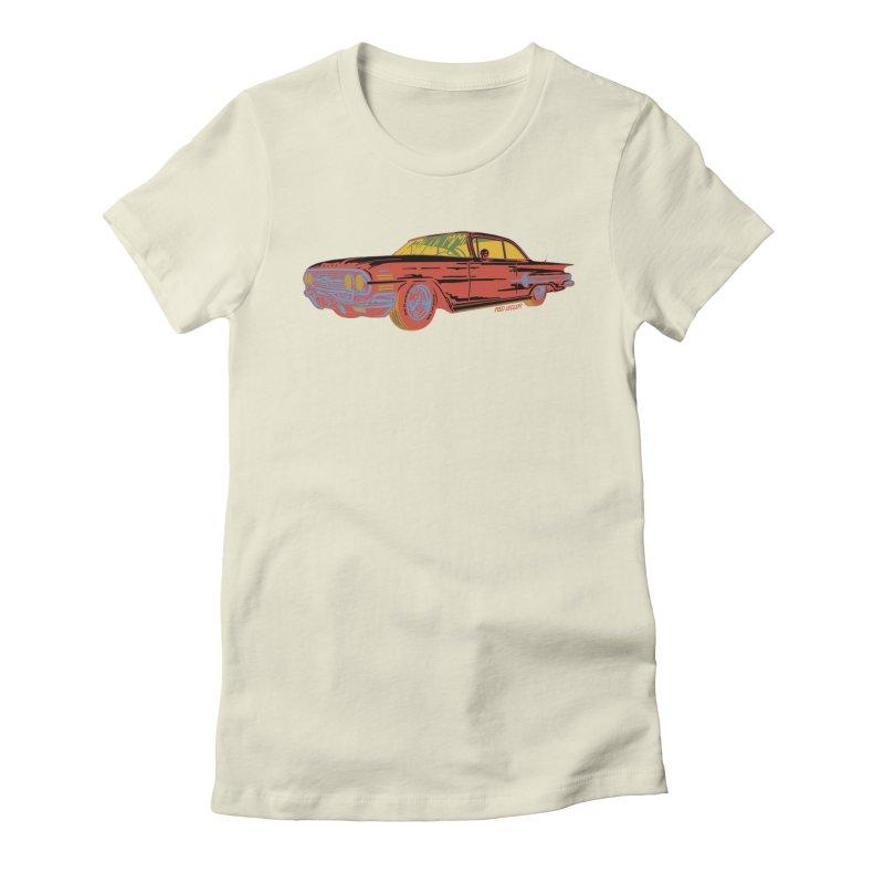 Impala Women's Fitted T-Shirt by redleggerstudio's Shop