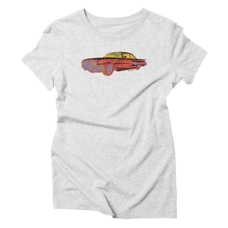Impala Women's Triblend T-shirt by redleggerstudio's Shop