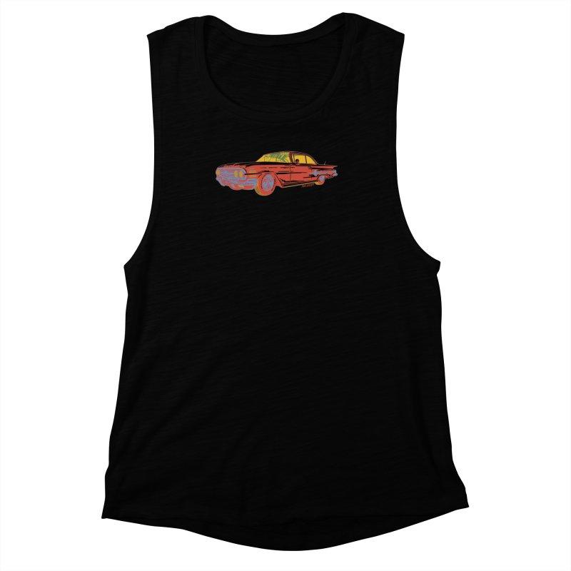 Impala Women's Muscle Tank by redleggerstudio's Shop
