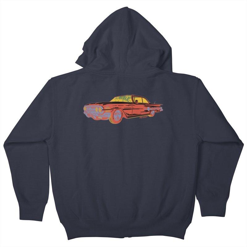 Impala Kids Zip-Up Hoody by redleggerstudio's Shop
