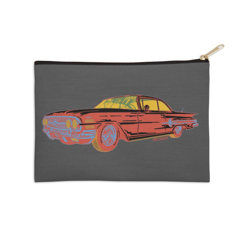 Impala Accessories Zip Pouch by redleggerstudio's Shop