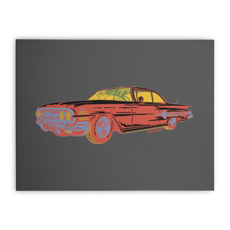 Impala Home Stretched Canvas by redleggerstudio's Shop