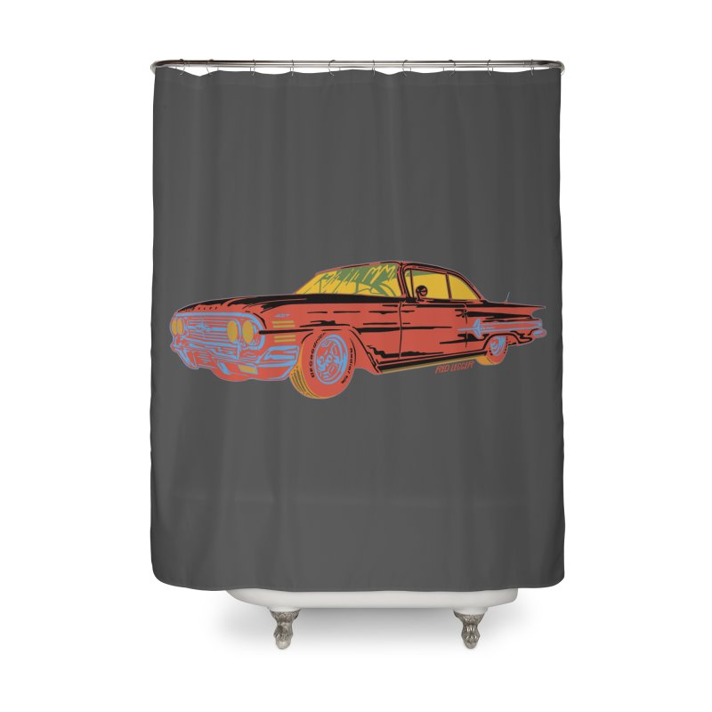 Impala Home Shower Curtain by redleggerstudio's Shop