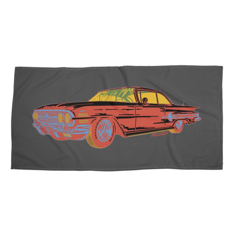 Impala Accessories Beach Towel by redleggerstudio's Shop
