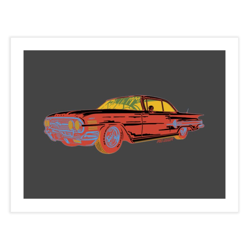 Impala Home Fine Art Print by redleggerstudio's Shop