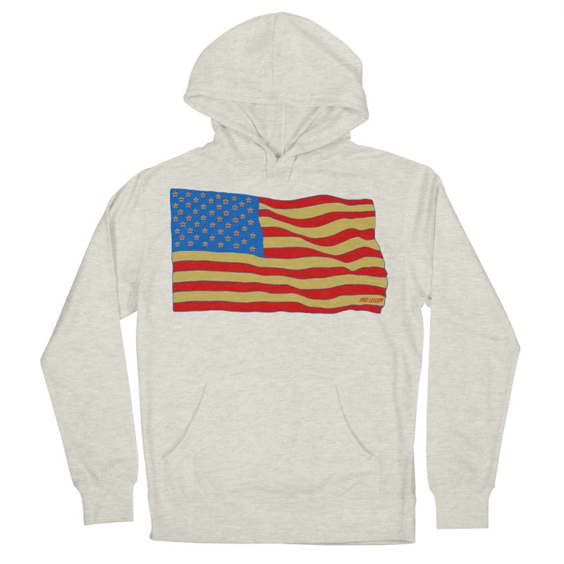 Red Legger Flag Men's Pullover Hoody by redleggerstudio's Shop