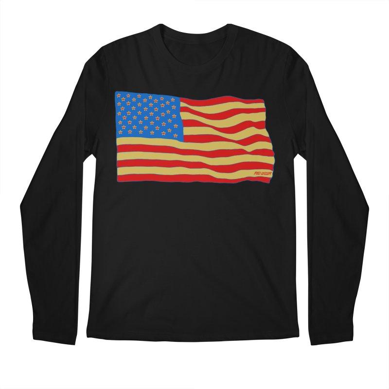 Red Legger Flag Men's Longsleeve T-Shirt by redleggerstudio's Shop