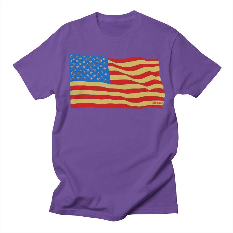 Red Legger Flag Men's T-shirt by redleggerstudio's Shop