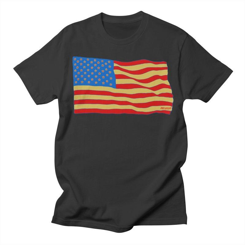 Red Legger Flag Women's Unisex T-Shirt by redleggerstudio's Shop