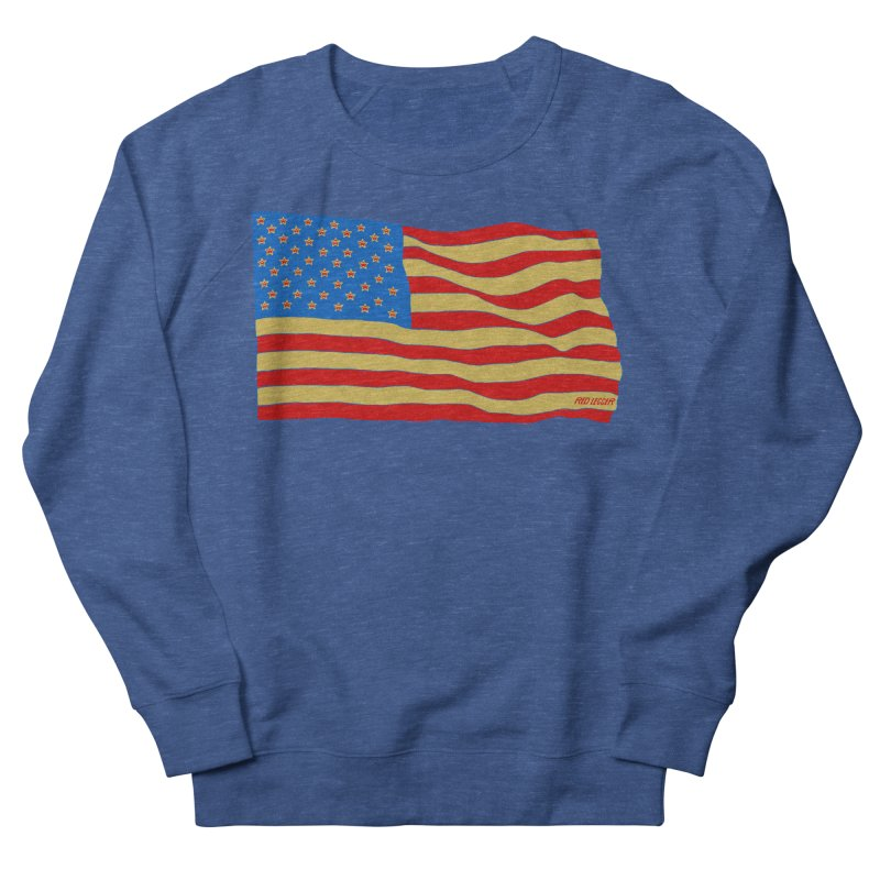 Red Legger Flag Men's Sweatshirt by redleggerstudio's Shop