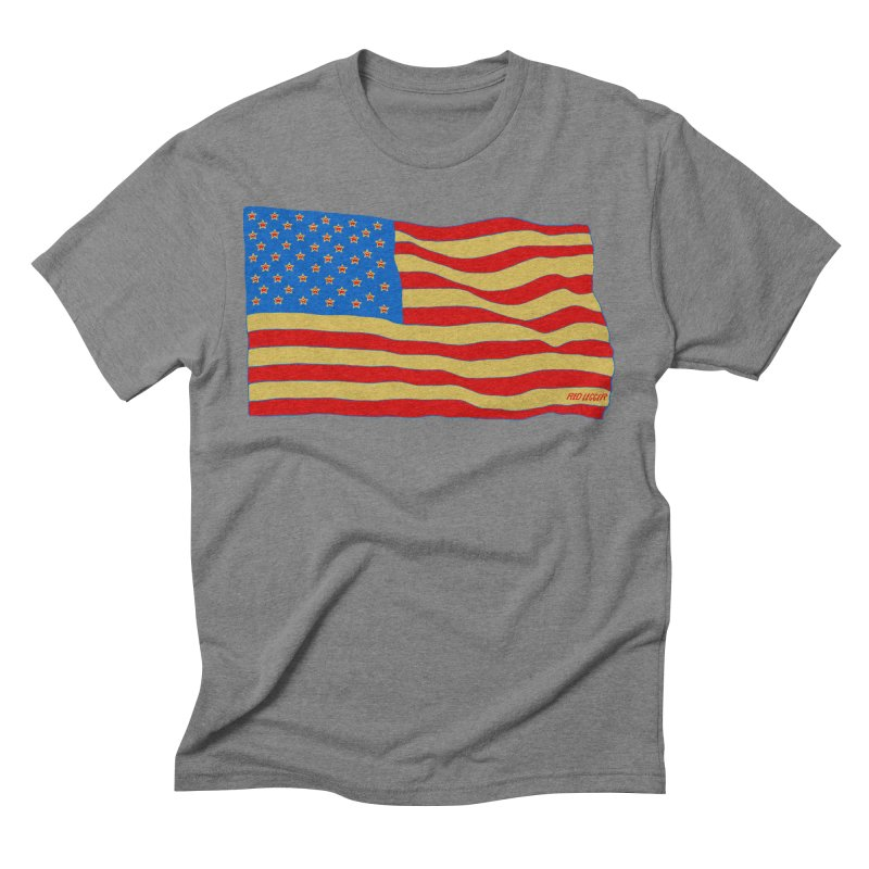 Red Legger Flag Men's Triblend T-shirt by redleggerstudio's Shop