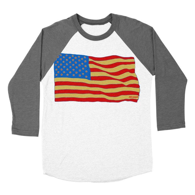 Red Legger Flag Women's Baseball Triblend T-Shirt by redleggerstudio's Shop