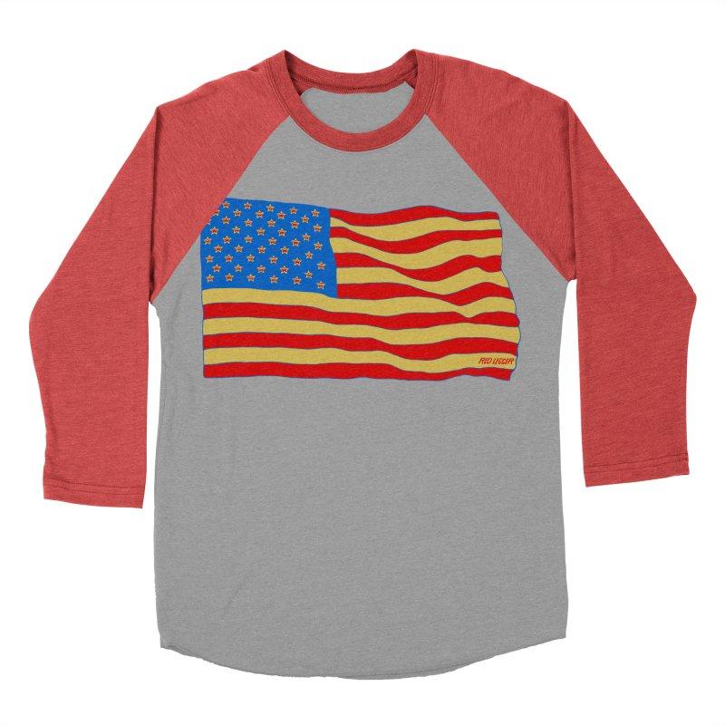 Red Legger Flag Men's Baseball Triblend T-Shirt by redleggerstudio's Shop