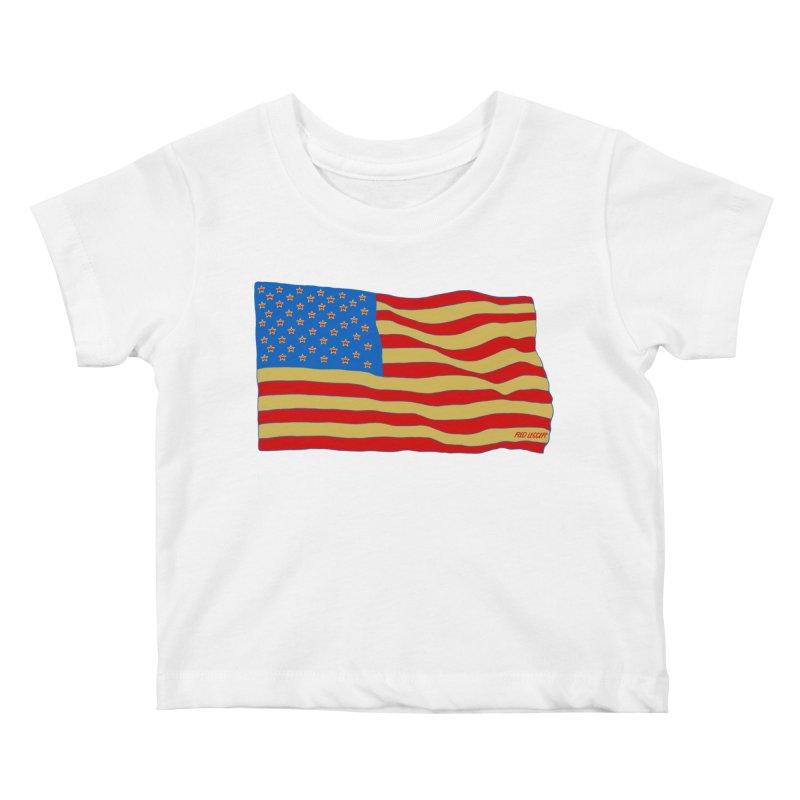Red Legger Flag Kids Baby T-Shirt by redleggerstudio's Shop