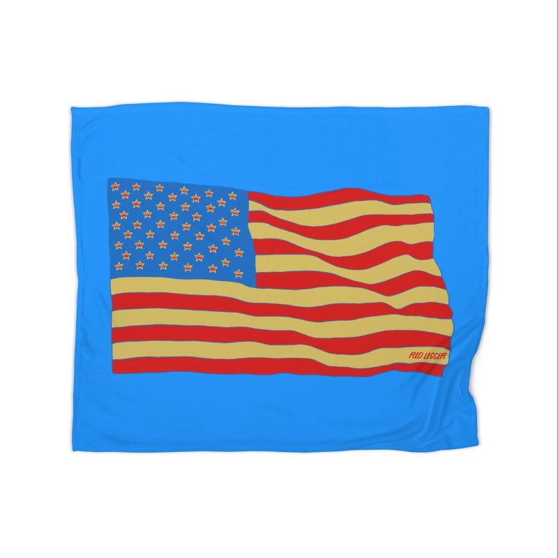 Red Legger Flag Home Blanket by redleggerstudio's Shop