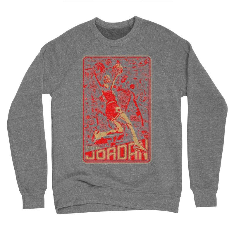 MJ Women's Sweatshirt by redleggerstudio's Shop