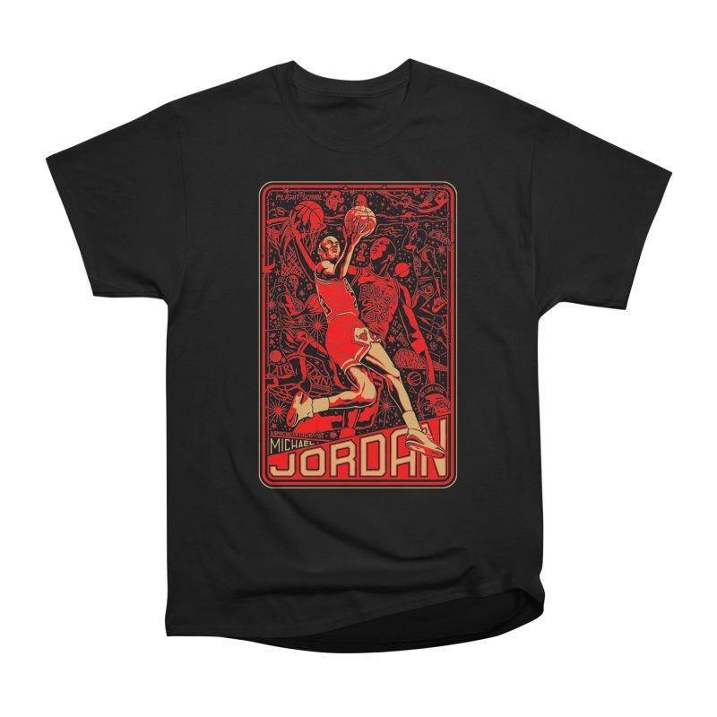 MJ Men's T-Shirt by redleggerstudio's Shop