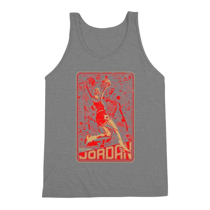 MJ Men's Tank by redleggerstudio's Shop